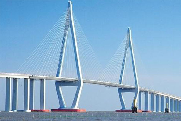 Cross-sea bridge